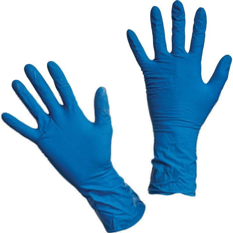 Перчатки латексные хозяйственные прочные