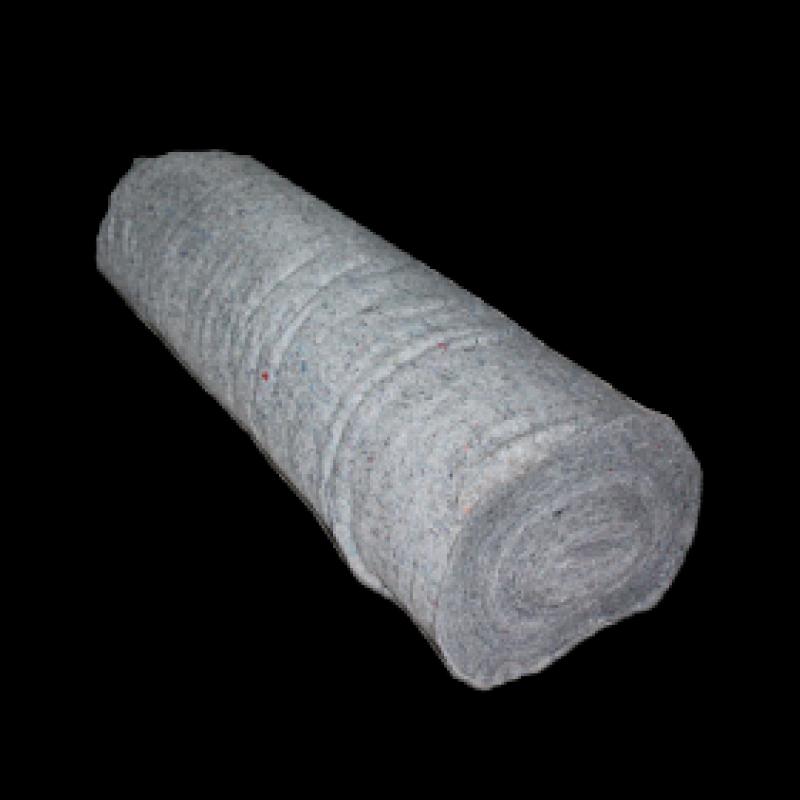 Полотно нетканое серое (180 г/м2), ХПП 1.50х50 м