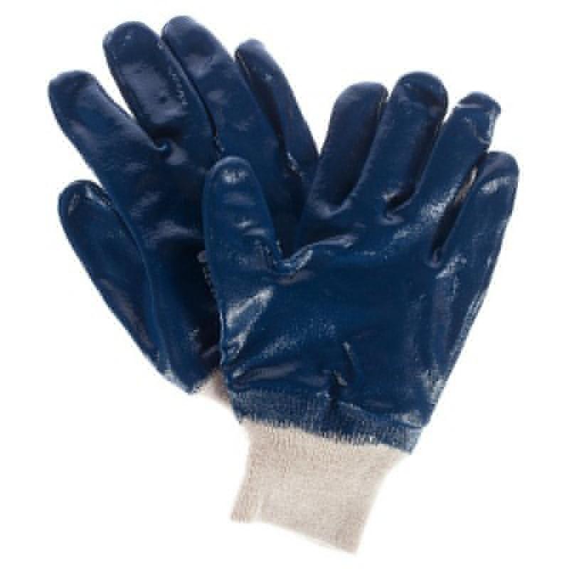 Перчатки нитриловые обливные мягк.манжет.
