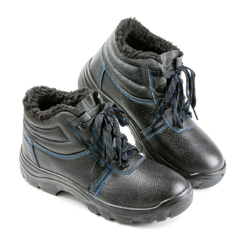 Ботинки цельноюфтевые ПУ, утепленные