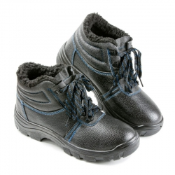 Ботинки утепленные на ПУ с МП (арт. 14)