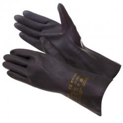 Перчатки GWARD латекс+неопр. с хлопком, черные ND27 Neo