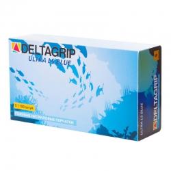 Перчатки нитрил неопудренные синие GWARD Deltagrip Ultra LS