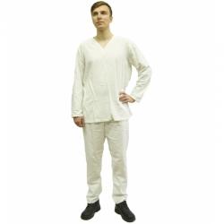 Белье нательное белое летнее