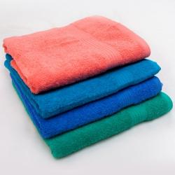 Полотенце махровое 50х100, цветное