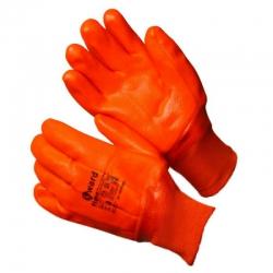 Перчатки утепленные перчатки с оранжевым МБС покрытием GWARD Flame(GSP 0128S)