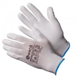 Перчатки нейлоновые белые GWARD White (PU 1001)