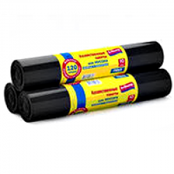 Мешки для мусора 120 л/20 шт (30 мкр)