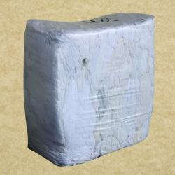 Ветошь белая простыни брикет (кг, упаковка 10 кг)